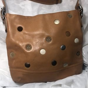 Limited Edition Leather Coach bag
